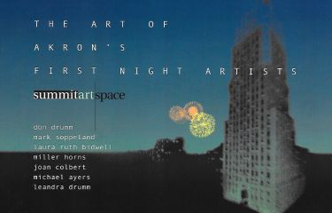 The Art of Akron's First Night Artists