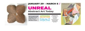 This is UNREAL; new Summit Artspace Gallery Exhibit, Jan. 29-March 5 with Free Jan. 29 Artist Reception