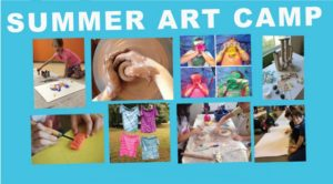 Summer Art Camp for kids 6-12 starting June 9, 2016