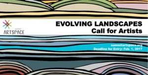 CALL FOR ARTISTS: Enter your cutting edge landscapes for the Evolving Landscapes Exhibition in March
