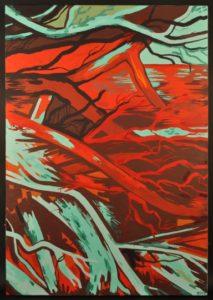 Pileup #3 by Francisca Ulgade