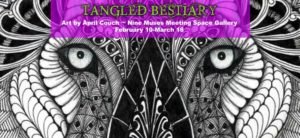 Animals of the TANGLED BESTIARY exhibit inhabit Nine Muses; shows runs until April 22
